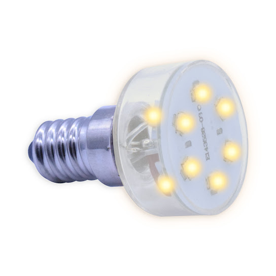 E14 Multi LED light 230V/2,3W warm wit